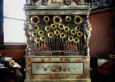 French organ, P. Jamison