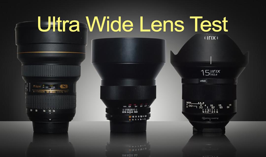 Ultra Wide Lens Test