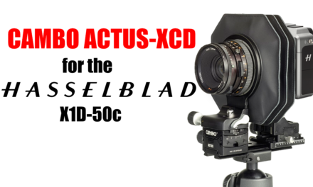 Cambo Actus XCD for Hasselblad X1D