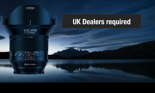 IRIX seek dealers in the UK