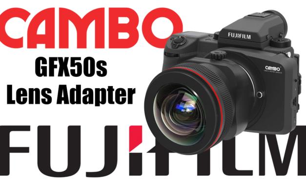 Cambo Lens Adapter for Fujifilm GFX50s
