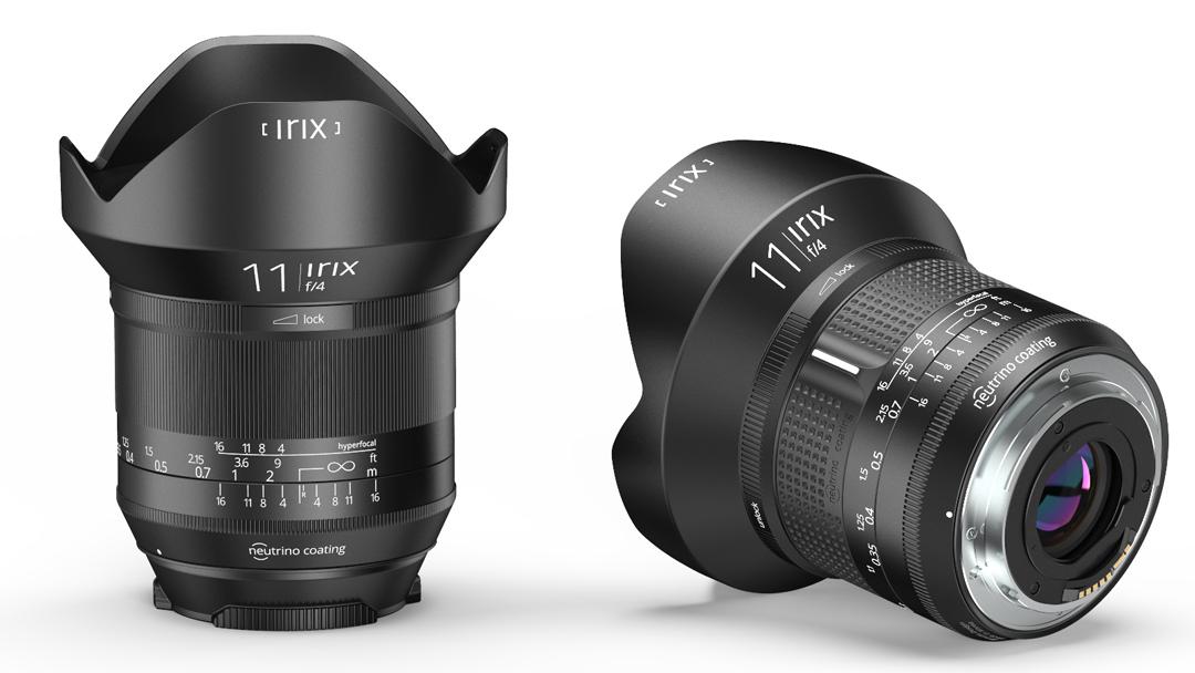IRIX 11mm Blackstone and Firefly
