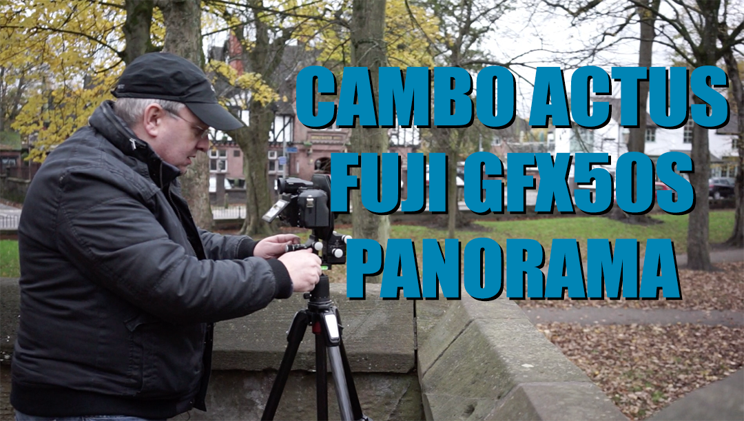 Cambo Actus Fuji GFX50s Panorama